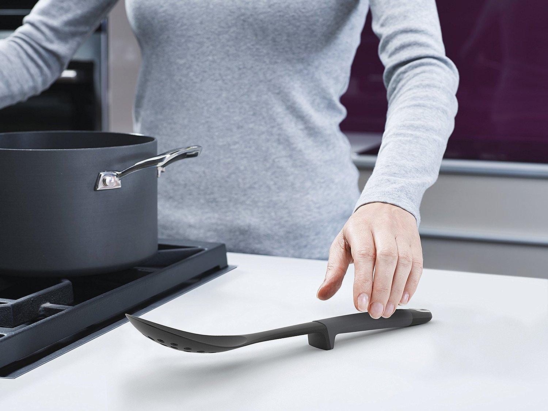 Набор из 4 кухонных инструментов elevate с щипцами без подставки Joseph Joseph, серый, 4 предмета Joseph Joseph 10152 фото 6