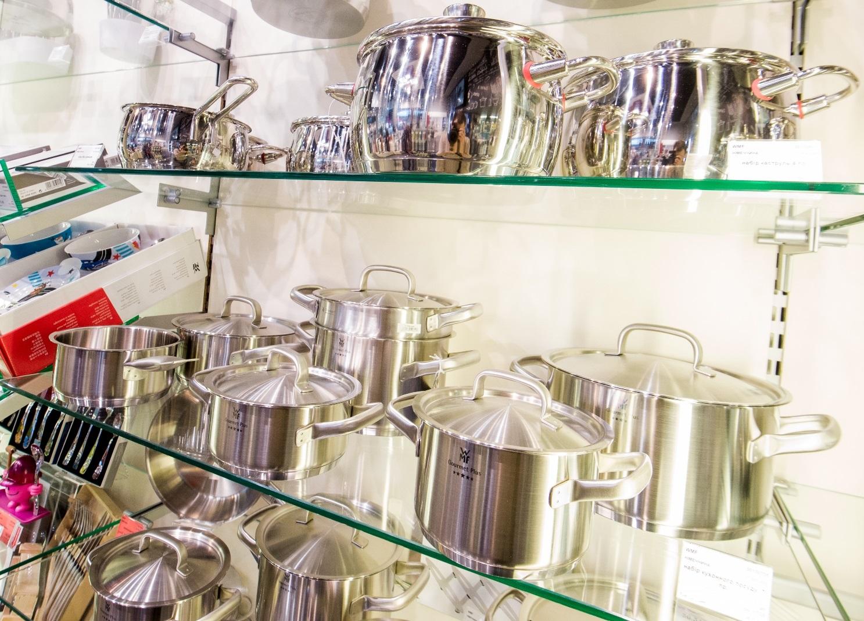 Набор кастрюль с крышками WMF GOURMET PLUS, серебристый, 4 предмета WMF 07 2004 6030 фото 5