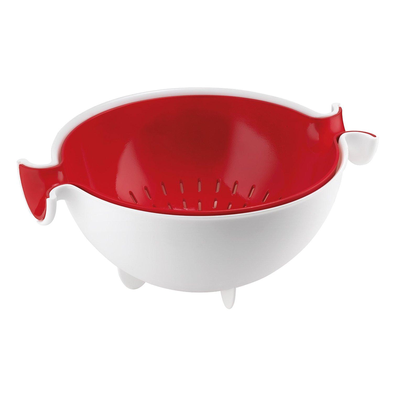 Онлайн каталог PROMENU: Набор: коландер и салатник Guzzini, красный, 2 предмета                               29250055