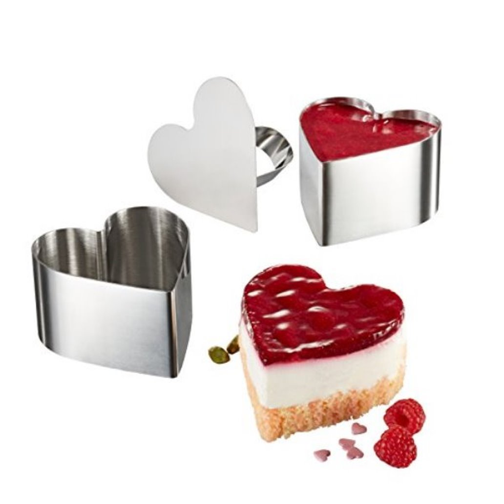 Онлайн каталог PROMENU: Набор колец для закусок/десертов GEFU Kitchen Aids, серебристый, 3 предмета GEFU 89293