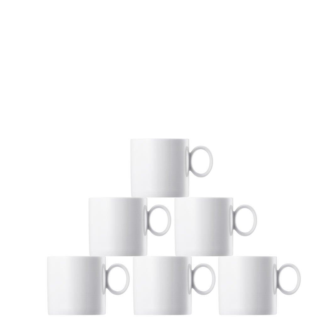 Онлайн каталог PROMENU: Набор кружек фарфоровых Rosenthal LOFT , белый, 6 штук Rosenthal 11900-800001-29217