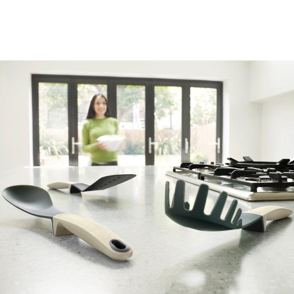 Набор кухонных аксессуаров на подставке Joseph Joseph ELEVATE, серый, 6 предметов Joseph Joseph 10027 фото 3