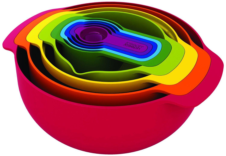 Онлайн каталог PROMENU: Набор кухонный Joseph Joseph NEST, разноцветный, 9 предметов Joseph Joseph 40080