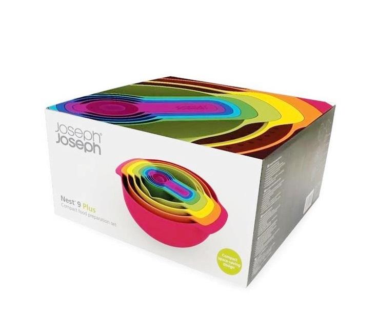Набор кухонный Joseph Joseph NEST, разноцветный, 9 предметов Joseph Joseph 40080 фото 3