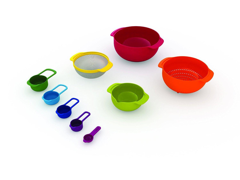 Набор кухонный Joseph Joseph NEST, разноцветный, 9 предметов Joseph Joseph 40080 фото 1