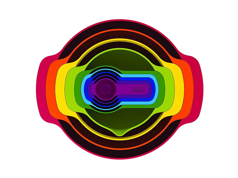 Набор кухонный Joseph Joseph NEST, разноцветный, 9 предметов Joseph Joseph 40080 фото 2