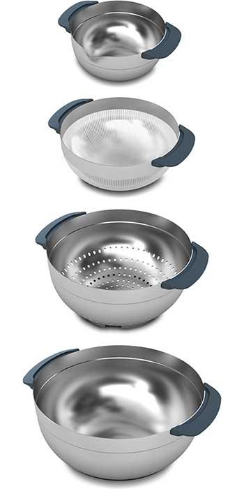 Набор кухонный Joseph Joseph NEST, серый, 9 предметов Joseph Joseph 95005 фото 9