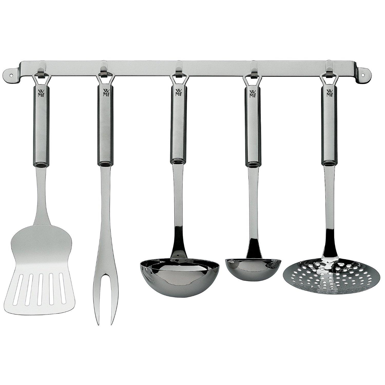 Онлайн каталог PROMENU: Набор кухонный принадлежностей WMF PROFI PLUS, серебристый, 5 предметов WMF 18 7152 9990