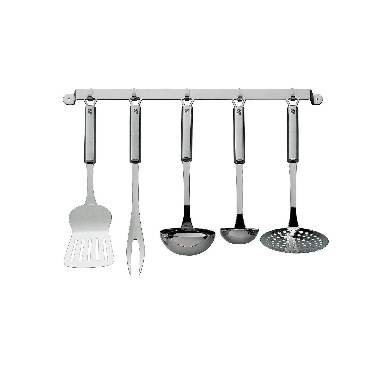 Набор кухонный принадлежностей WMF PROFI PLUS, серебристый, 5 предметов WMF 18 7152 9990 фото 1