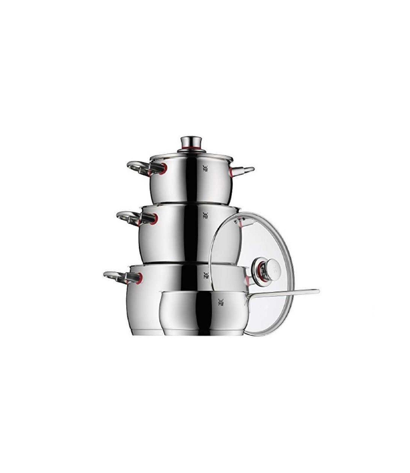 Набор кухонной посуды WMF QUALITY ONE серебристый,, 4 предмета WMF 07 7414 6380 sp фото 1