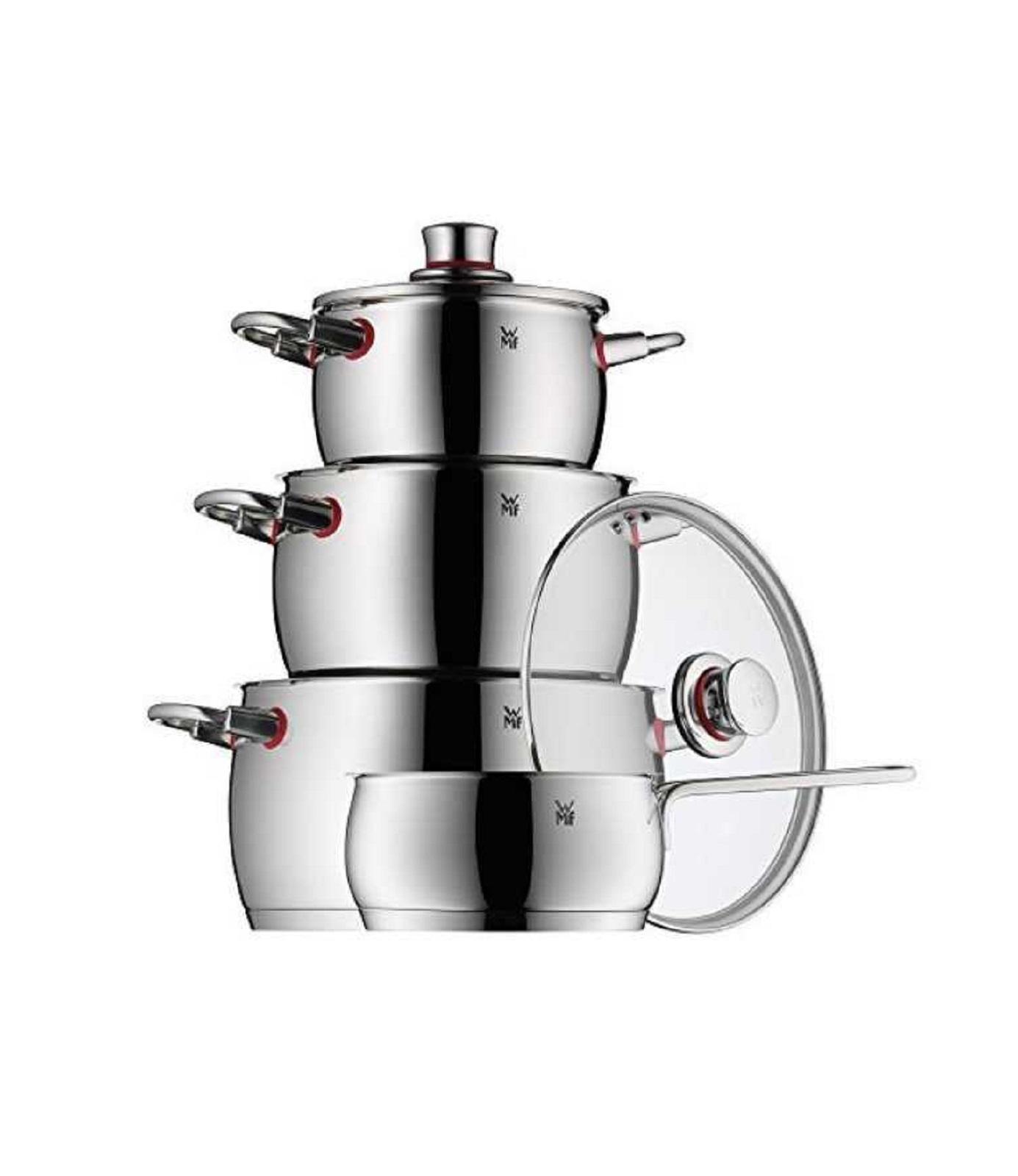 Набор кухонной посуды WMF QUALITY ONE серебристый,, 4 предмета WMF 07 7414 6380 sp фото 0