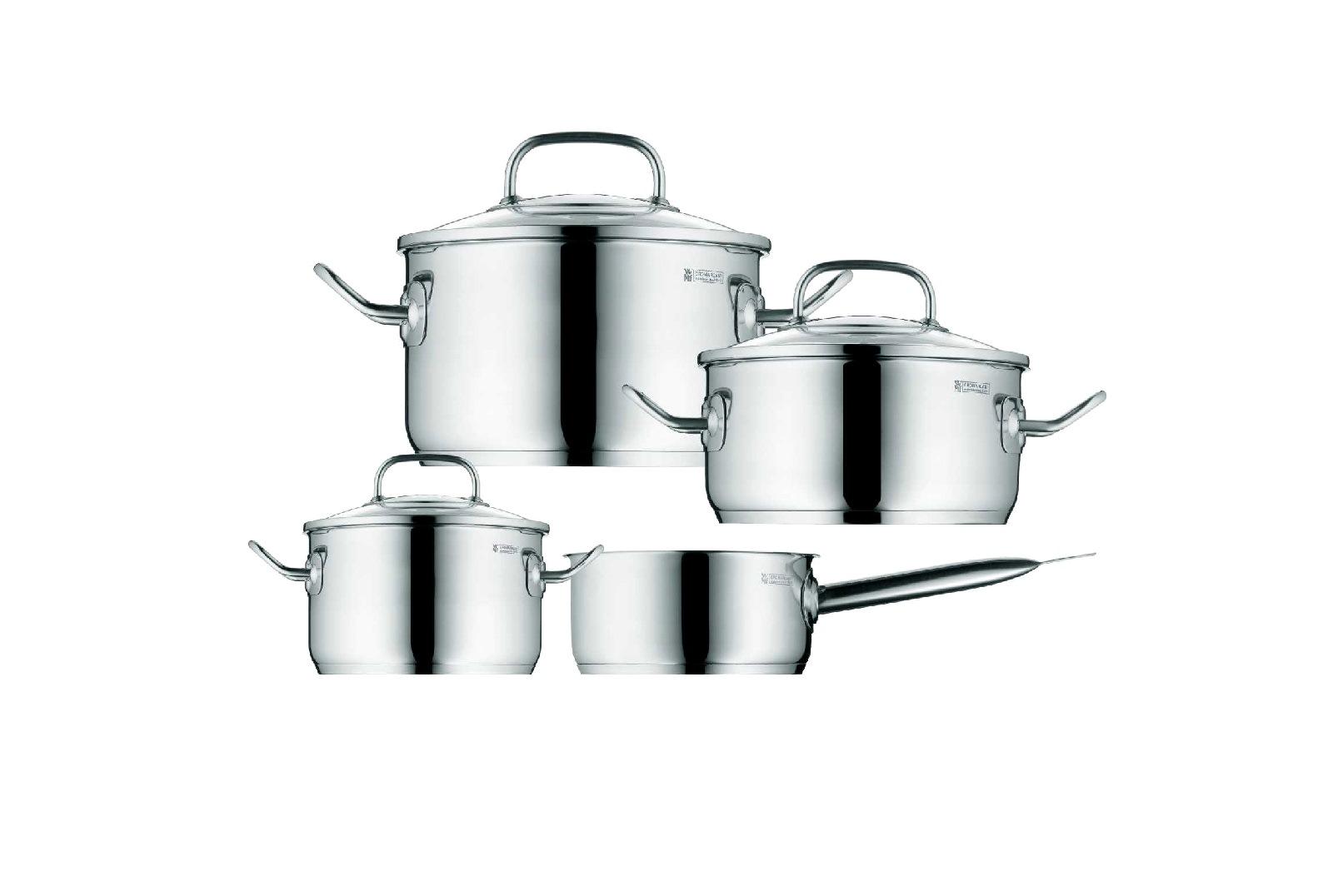 Набор кухонной посуды WMF PROFI PLUS, серебристый, 4 предмета WMF 07 1614 6380 PROMO фото 1