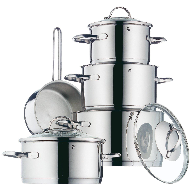 Набор кухонной посуды WMF, 5 предметов (16 см х 2 л; 20 см х 2,5 л; 20 см х 3,5 л; 24 см х 6 л; ковш: 16 см х 1,6 л) WMF 07 2105 6380 SP фото 1