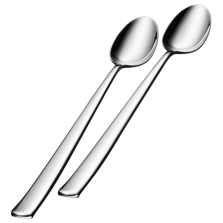 Онлайн каталог PROMENU: Набор ложек для мороженого WMF BISTRO, серебристый, 2 штуки WMF 12 8807 6040