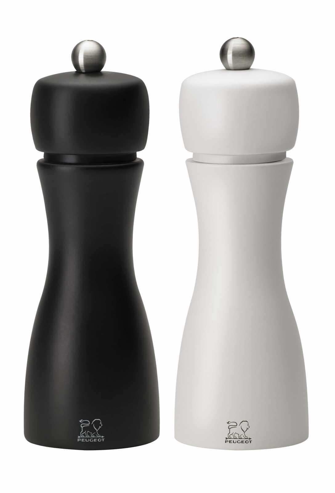 Онлайн каталог PROMENU: Набор мельниц для соли и перца Peugeot TAHITI, высота 15 см, черный и белый, 2 предмета                               2/24260