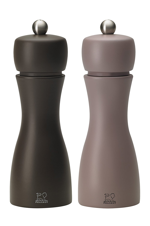 Онлайн каталог PROMENU: Набор мельниц соль и перец Peugeot TAHITI, высота 15 см, коричневый и фиолетовый, 2 штуки                               2/33293