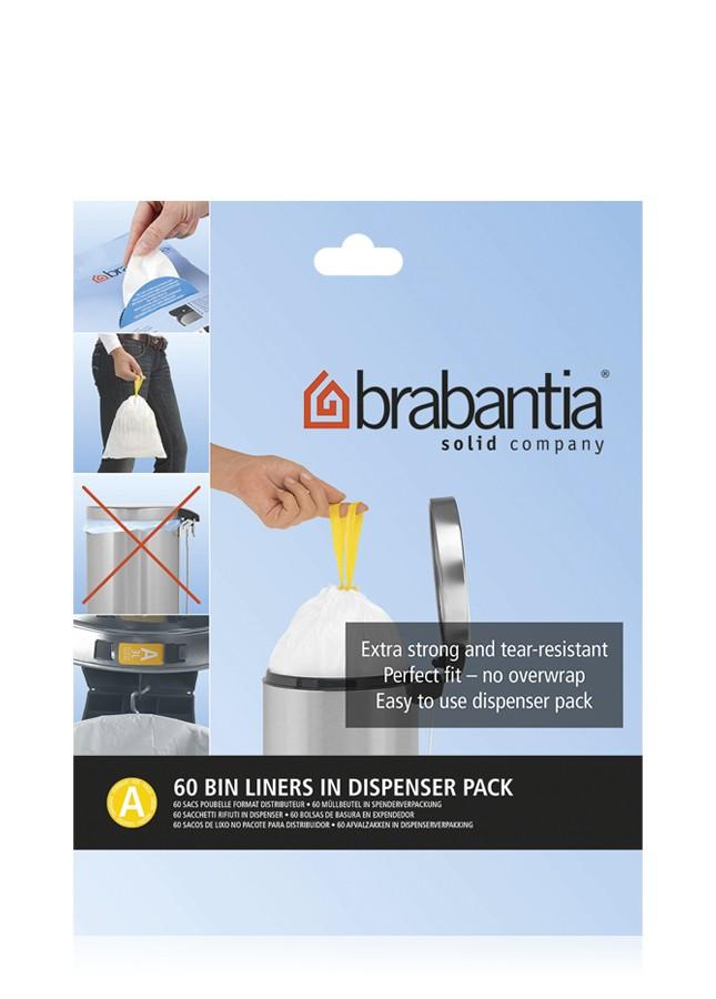 "Онлайн каталог PROMENU: Набор мусорных пакетов Brabantia (3 л),""А"", 60 шт. Brabantia 348983"