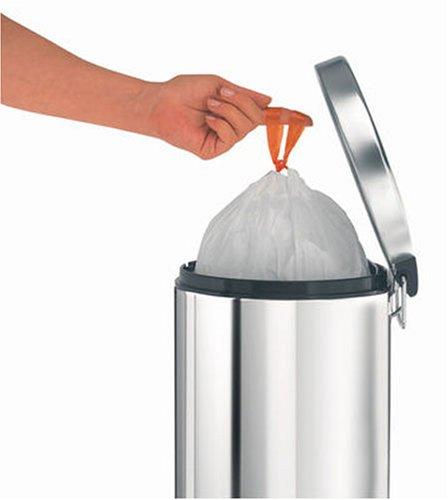 """Набор мусорных пакетов Brabantia (5 л), """"В"""" 60 шт. Brabantia 348969 фото 4"""