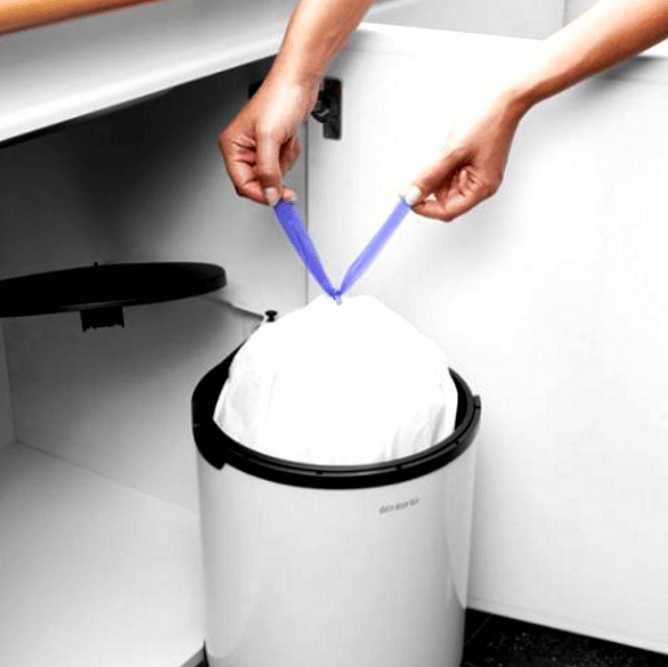 Набор мусорных пакетов Brabantia 15/20 л, 20 шт. Brabantia 246760 фото 1