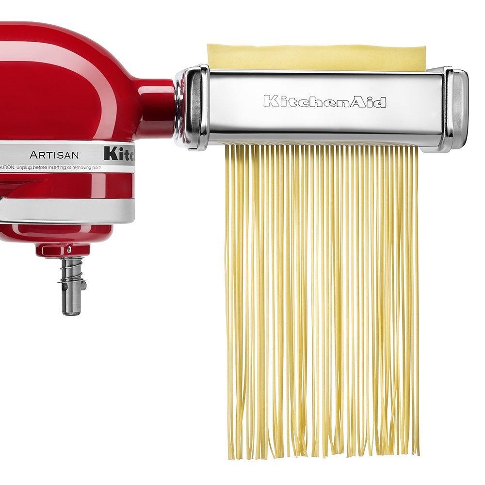 Набор насадок для лазаньи, спагетти, лапши KitchenAid, серебристый, 3 предмета KitchenAid 5KPRA фото 2