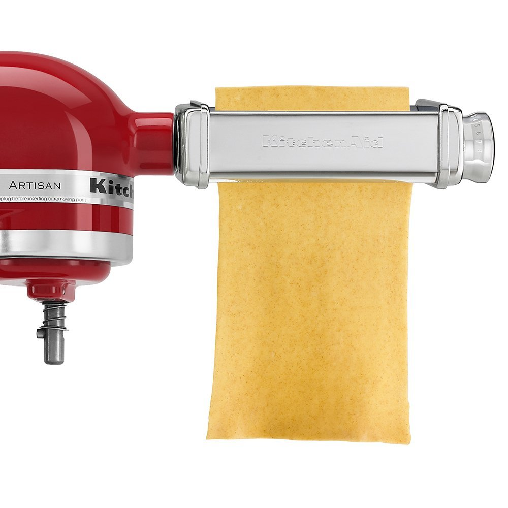 Набор насадок для лазаньи, спагетти, лапши KitchenAid, серебристый, 3 предмета KitchenAid 5KPRA фото 3
