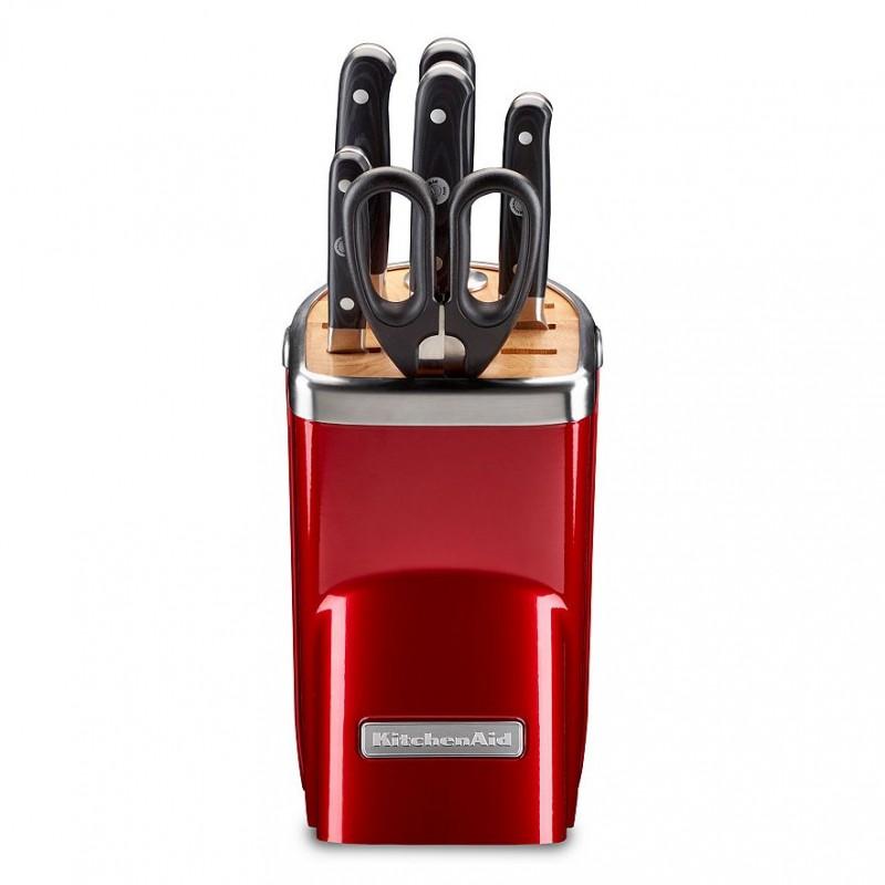 Набор ножей KitchenAid Professional Series, карамельное яблоко, 7 предметов KitchenAid KKFMA07CA фото 1