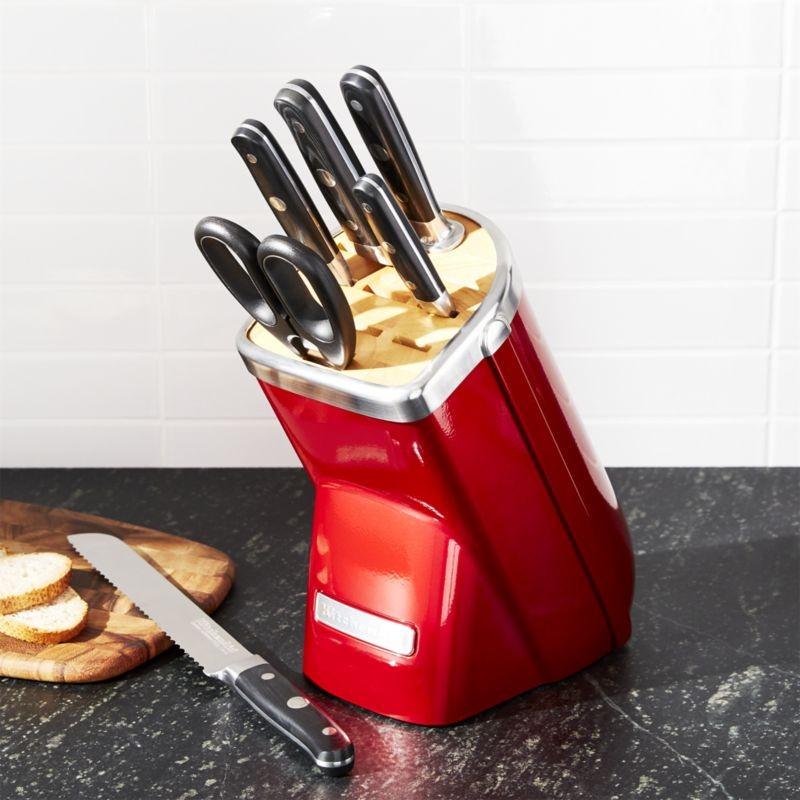 Набор ножей KitchenAid Professional Series, карамельное яблоко, 7 предметов KitchenAid KKFMA07CA фото 2