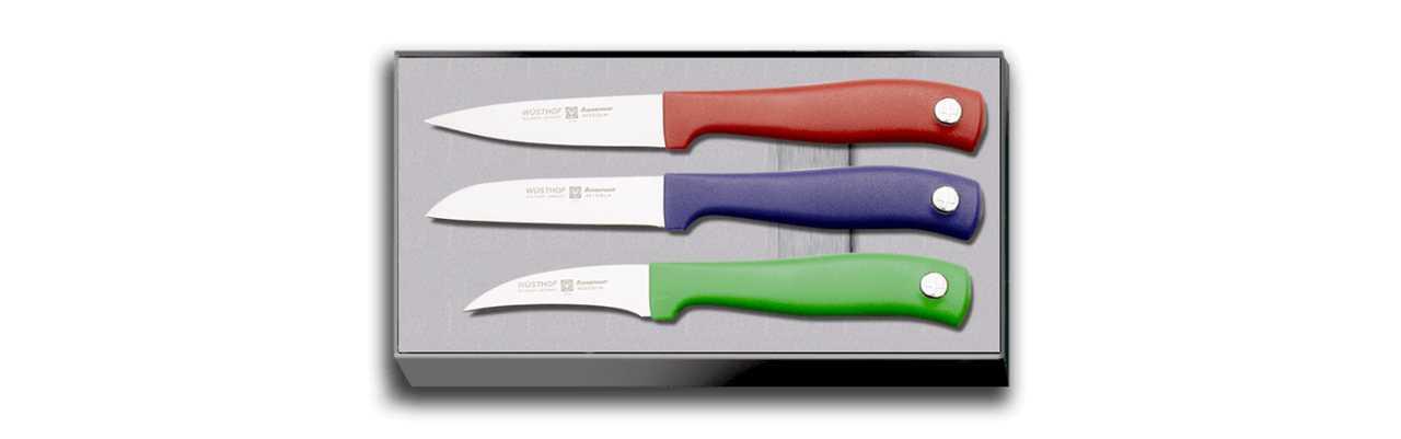 Онлайн каталог PROMENU: Набор ножей Wuesthof, 3 шт. Wuesthof 9352-5c