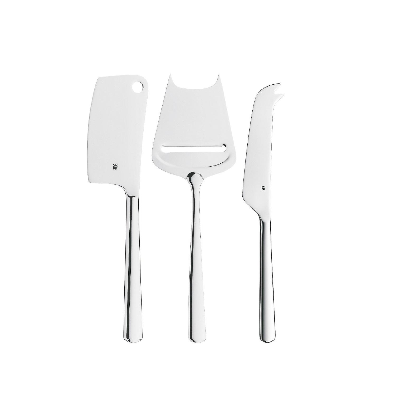 Набор ножей для сыра WMF BISTRO, серебристый, 3 предмета WMF 12 8796 6040 фото 1