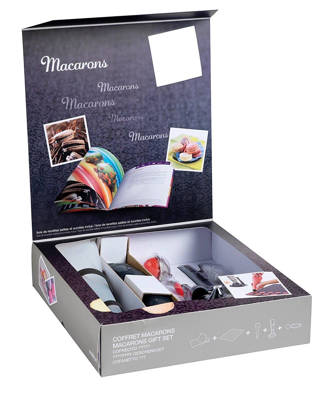 Онлайн каталог PROMENU: Набор подарочный для макарун на 37 порций Mastrad, разноцветный, 13 предметов                               F45364