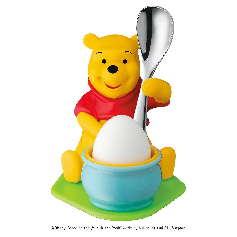 Набор: подставка для яйца с ложкой WMF Winne The Pooh, 2 предмета WMF 12 8353 6280 фото 1