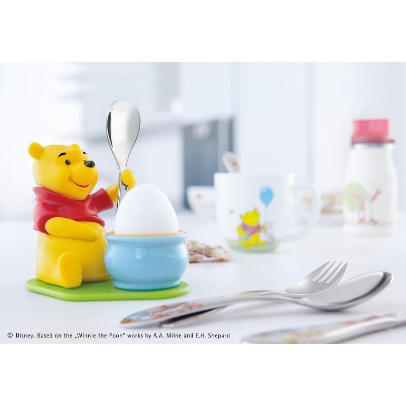Набор: подставка для яйца с ложкой WMF Winne The Pooh, 2 предмета WMF 12 8353 6280 фото 3