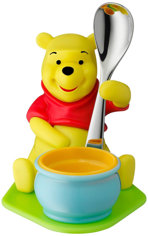Онлайн каталог PROMENU: Набор: подставка для яйца с ложкой WMF Winne The Pooh, 2 предмета  12 8353 6280