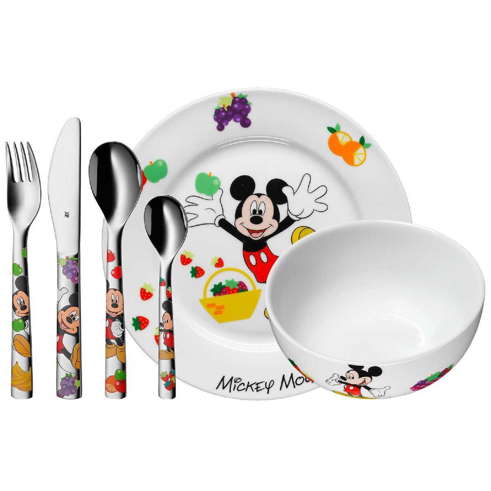 Онлайн каталог PROMENU: Набор посуды детский 6 пр WMF Mickey Mouse  (12 8295 9964) WMF 12 8295 9964