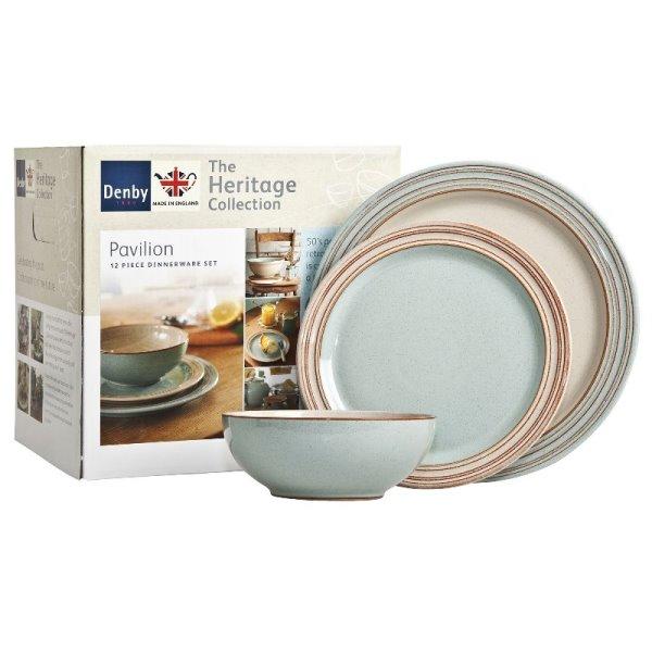 Онлайн каталог PROMENU: Набор посуды столовой Denby Heritage, 12 предметов Denby 355041958