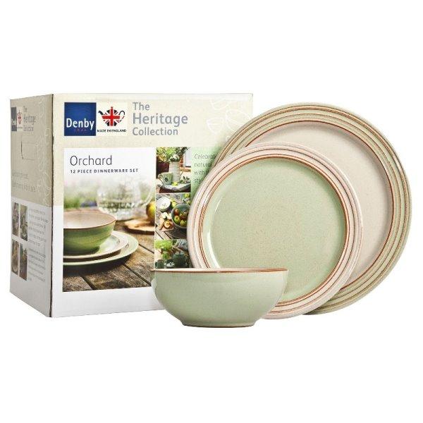 Онлайн каталог PROMENU: Набор посуды столовой Denby Heritage, 12 предметов Denby 357041958