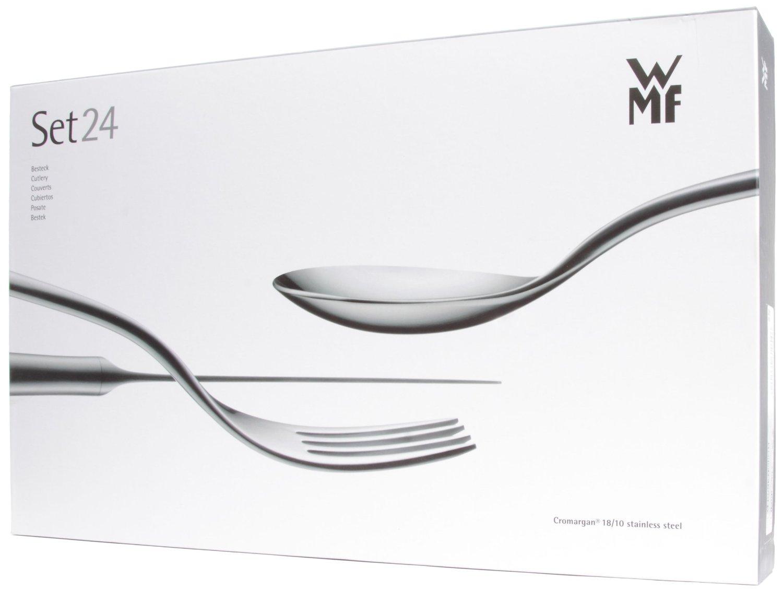 Набор приборов столовых WMF DUNE, серебристый, 24 предмета WMF 11 0300 9993 sp фото 2