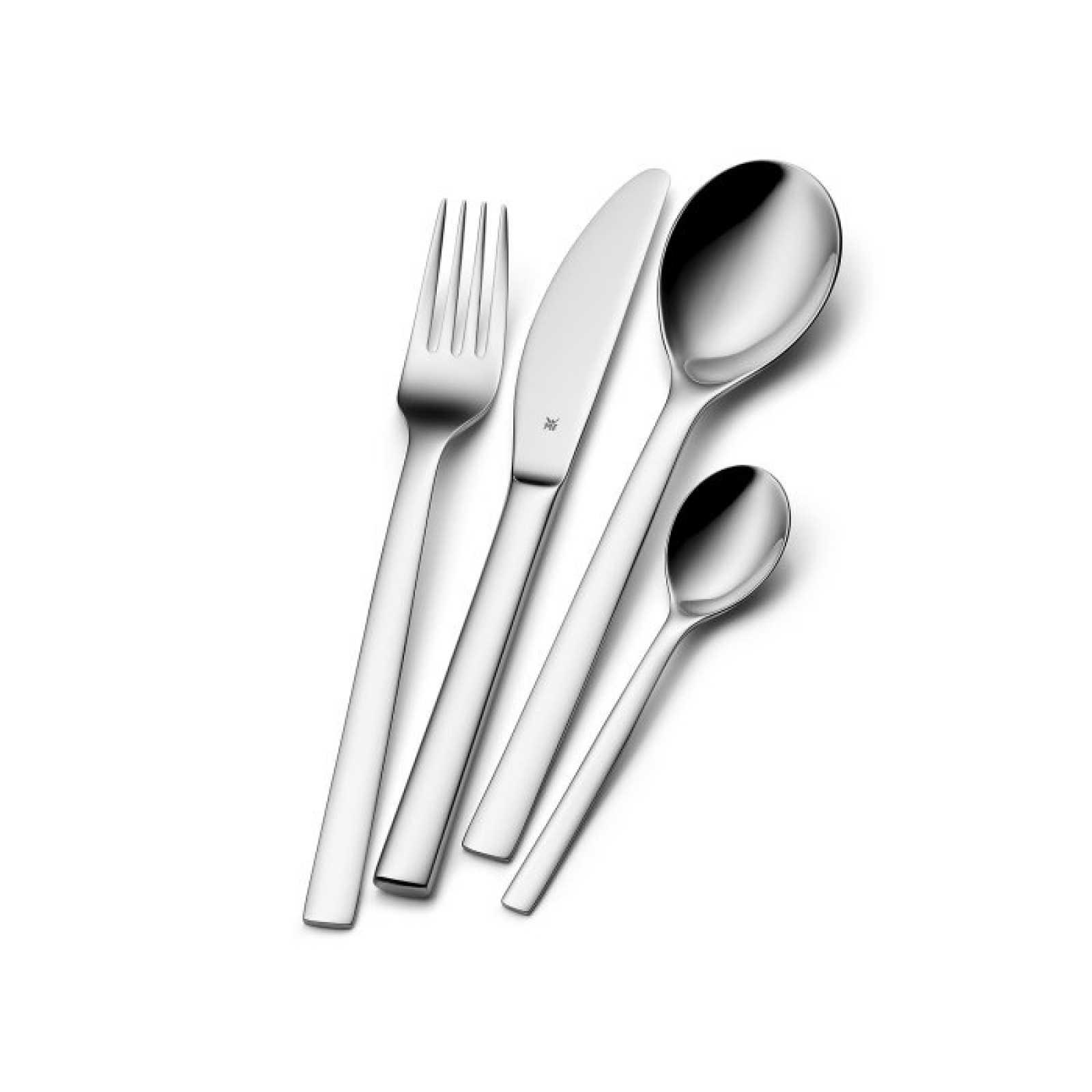 Онлайн каталог PROMENU: Набор приборов столовых WMF ATRIA, серебристый, 24 предмета WMF 12 7600 6043