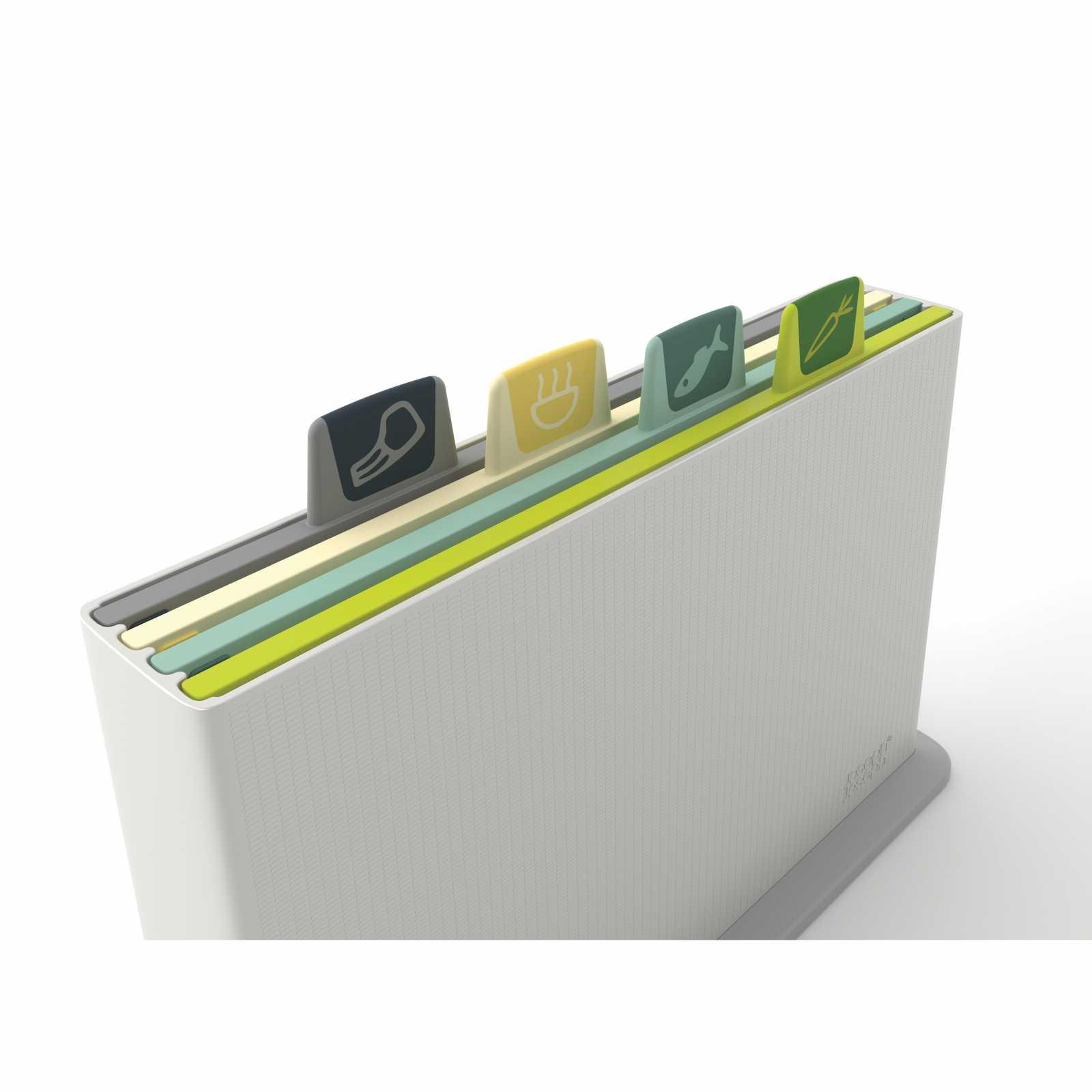 Набор разделочных досок в кейсе Joseph Joseph INDEX, 30х20х8,3 см, светло-серый, 5 предметов Joseph Joseph 60113 фото 2