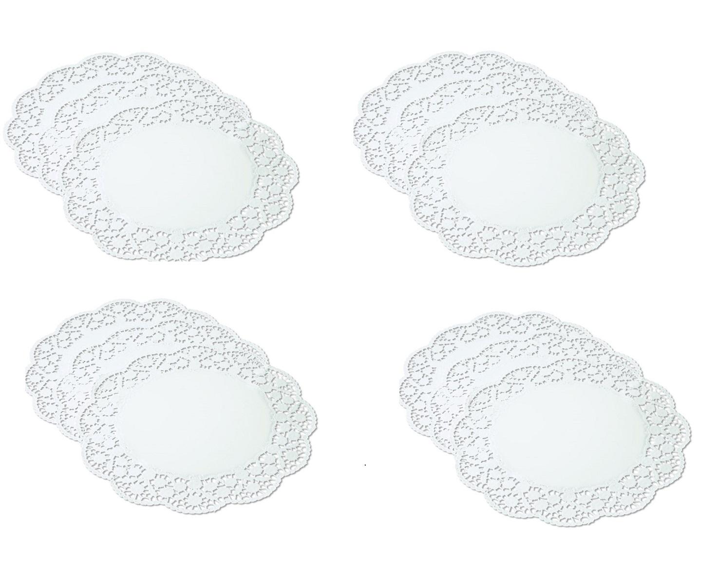 Онлайн каталог PROMENU: Набор салфеток бумажных для торта Kaiser Backform PATISSERIE, длина 36 см, бумага, белый, 12 штук                               23 0076 9097