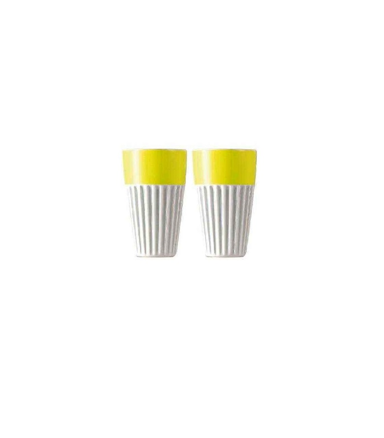 Набор стаканов для капучино Rosenthal SUNNY DAY, объем 0,35 л, желтый, 2 штуки Rosenthal 10850-408535-28323 фото 1
