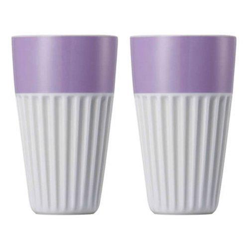 Набор стаканов для капучино Rosenthal SUNNY DAY, объем 0,35 л, фиолетовый, 2 штуки Rosenthal 10850-408531-28323 фото 1