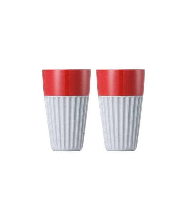 Онлайн каталог PROMENU: Набор стаканов для капучино Rosenthal SUNNY DAY, объем 0,35 л, красный, 2 штуки Rosenthal 10850-408525-28323