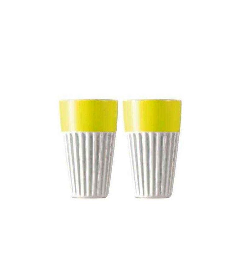 Онлайн каталог PROMENU: Набор стаканов для капучино Rosenthal SUNNY DAY, объем 0,35 л, желтый, 2 штуки Rosenthal 10850-408535-28323