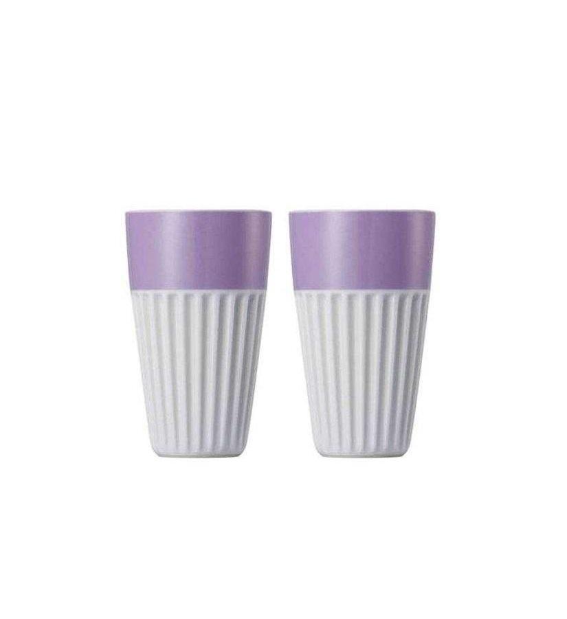 Онлайн каталог PROMENU: Набор стаканов для капучино Rosenthal SUNNY DAY, объем 0,35 л, фиолетовый, 2 штуки Rosenthal 10850-408531-28323