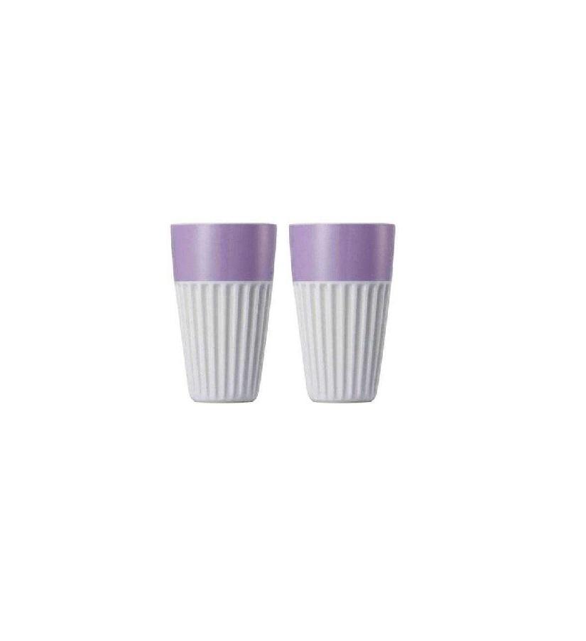 Набор стаканов для капучино Rosenthal SUNNY DAY, объем 0,35 л, фиолетовый, 2 штуки Rosenthal 10850-408531-28323 фото 2