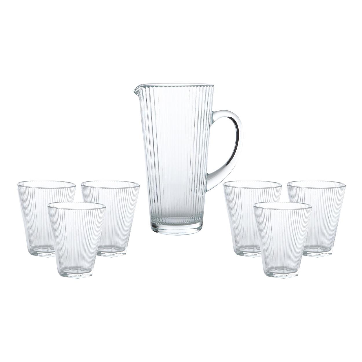 Онлайн каталог PROMENU: Набор: графин 1,2 л со стаканами 0,34 л Vidivi, 7 предметов                                   66173M