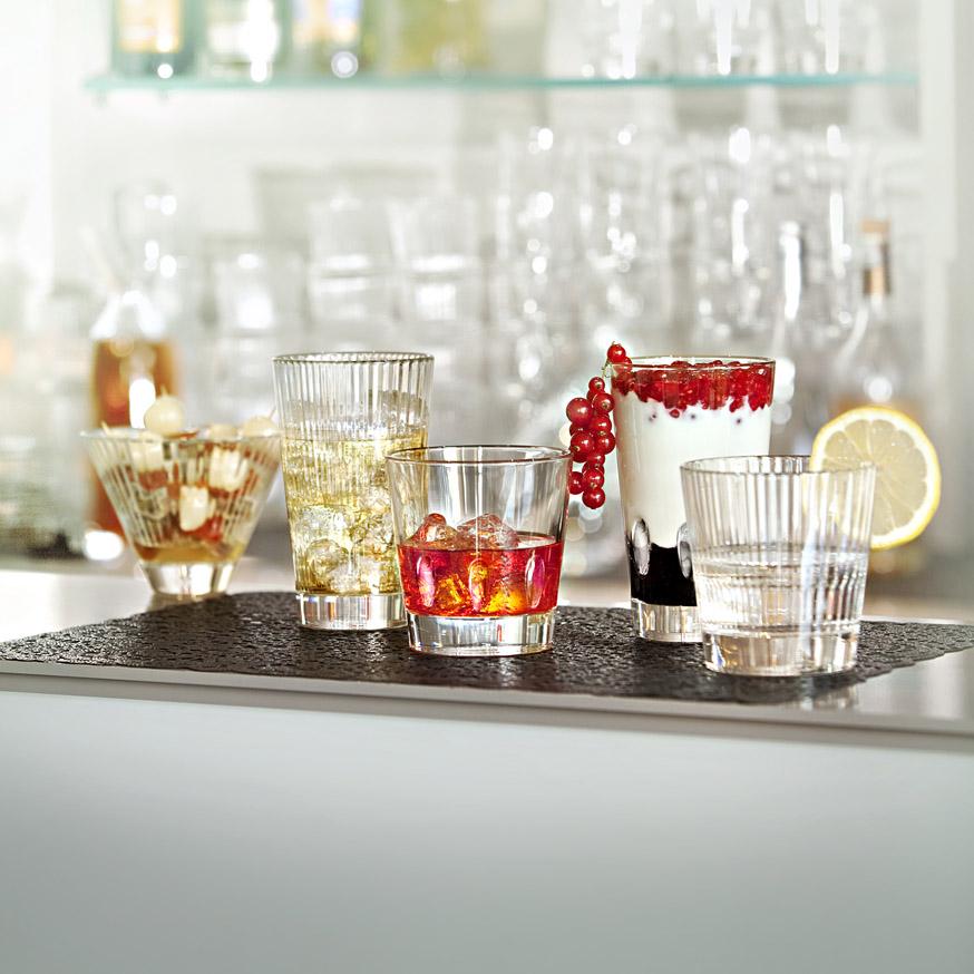 Набор стаканов Vidivi DIVA, объем 0,41 л, высота 14 см, прозрачный, 6 штук Vidivi 65239M_Set 6 фото 1