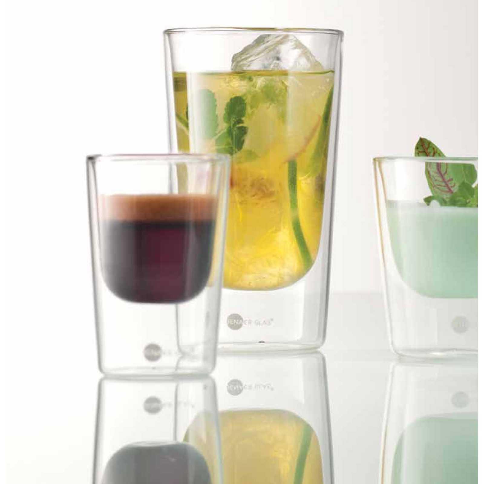 """Набор  стаканов  Jenaer Glas Becher""""PRIMO"""" L Hot'n'Cool, 2 шт, объем 0,145 л, прозрачный Jenaer Glas 115901 фото 2"""