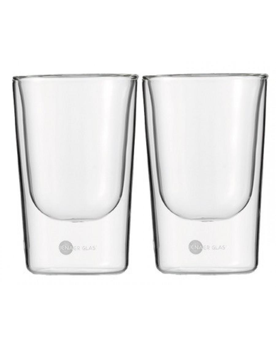"""Онлайн каталог PROMENU: Набор  стаканов  Jenaer Glas Becher""""PRIMO"""" L Hot'n'Cool, 2 шт, объем 0,145 л, прозрачный Jenaer Glas 115901"""
